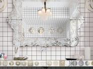 Double-fired ceramic wall tiles SOLI E LUNE 40x40 - CERAMICA BARDELLI