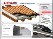 Ventilated roof system AIRDACH | EPS ventilated roof system - RE.PACK