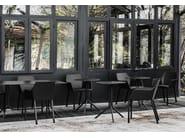 Stackable polypropylene chair MEM - Kristalia