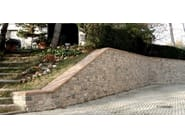 Outdoor reconstructed stone wall tiles GARDA - ITALPIETRA