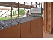 Thermal insulating clay block POROTON PLAN TS8 - FORNACI LATERIZI DANESI