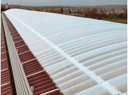Polycarbonate sheet AKRALUX Onda - AKRAPLAST SISTEMI