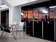 Low modular office storage unit BLOCK - ACTIU