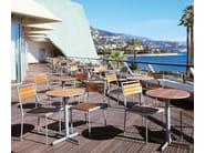 Round teak table TERRACE - Inno Interior Oy