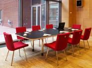 Modular rectangular meeting table IN-TENSIVE   Rectangular meeting table - Inno Interior Oy
