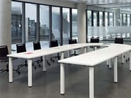 Rectangular meeting table COOL C400 - C500 - ACTIU
