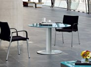 Glass table / meeting table PEANA | Round table - ACTIU