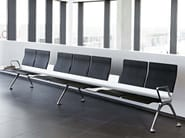 Beam seating with armrests TRANSIT - ACTIU