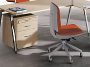 Task chair with casters ERGOS - ACTIU