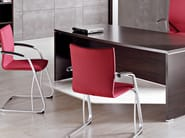 Visitor's chair with Armrests KADOS | Visitor's chair - ACTIU