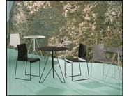Metal chair, stackable, flame retardant CAMILLA | Chair - YDF
