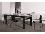 Lacquered table RICCARDO | Table - YDF