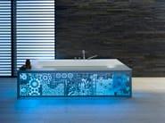 Natural stone wall tiles MULTICOLOUR MURALES - ARTESIA® / International Slate Company