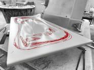 Ceramic washbasin IMPRONTA | Washbasin - CERAMICA CATALANO
