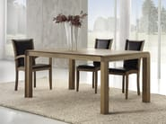 Extending wooden table WOODCONCEPT - Domus Arte