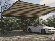 Steel porch for parking areas R160 PERGOPARK - BT Group