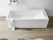 Rectangular Korakril™ bathtub UNICO | Rectangular bathtub - Rexa Design