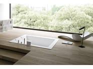 Freestanding built-in Korakril™ bathtub UNICO | Built-in bathtub - Rexa Design