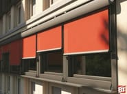 Box roller blind with guide system T22 MAX - BT Group