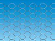 Wire mesh Fence ESAGONA - Siderurgica Ferro Bulloni