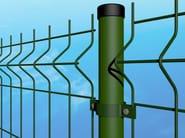 Modular electrically welded mesh Fence SUPER ECO - Siderurgica Ferro Bulloni