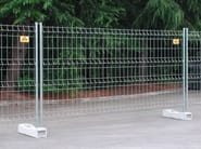 Construction site temporary and mobile fencing STANDARD - Siderurgica Ferro Bulloni