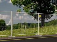 Construction site temporary and mobile fencing CORNICE - Siderurgica Ferro Bulloni