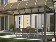 Modular aluminium door canopy TUNNEL - BT Group
