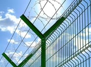 Barbed wire, drawn steel wire RAZOR WIRE - CONCERTINA - Siderurgica Ferro Bulloni