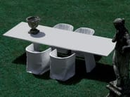 Rectangular table WEDGE - Living Divani