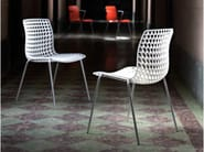 Stackable chair MOIRÈ | Stackable chair - Movisi