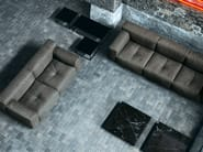 Sofa with removable cover SOFTWALL | Sofa - Living Divani