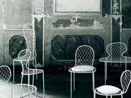 Wire mesh chair FAMILY CHAIRS - Living Divani