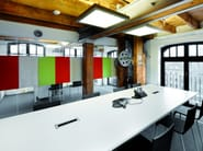 Felt wall tiles / whiteboard BUZZIBOARD - BuzziSpace