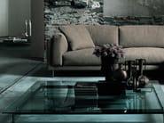 Square glass coffee table METRO² | Coffee table - Living Divani