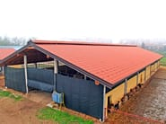 Insulated metal panel for roof ISOCOPPO - Alubel