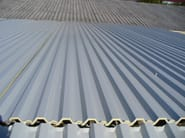Insulated metal panel for roof TEK 28 - Alubel