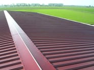 Insulated metal panel for roof ALUTECH DACH - Alubel