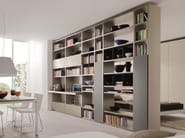 Double-sided sectional bookcase LINK SYSTEM | Double-sided bookcase - Zalf