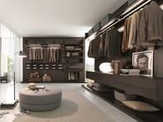 Wooden walk-in wardrobe PICÀ Z232 - Zalf