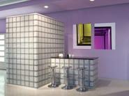 Hand-made Glass block MENDINI - Seves S.p.A. Divisione Glassblock