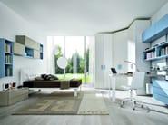 Fitted melamine bedroom set Z021 | Bedroom set - Zalf