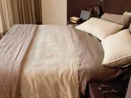 Solid-color linen bedding set RIPRESE&RIBATTUTE   Bedding set - LA FABBRICA DEL LINO by Bergianti & Pagliani