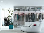 Sectional wardrobe EGO | Wardrobe - Poliform