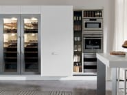 Fitted kitchen with island TELEA - Euromobil