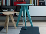 Wooden stool / coffee table IPSILON - Poliform
