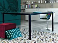 Lacquered square table TREVI | Square table - Poliform