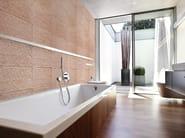 Indoor reconstructed stone 3D Wall Cladding FLUCTUS - BIOPIETRA®