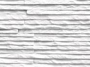 Indoor reconstructed stone 3D Wall Cladding MONTE BIANCO - BIOPIETRA®