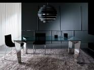 Steel living room table MESH | Table - i 4 Mariani
